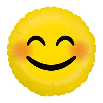 Ballon helium Emoticones smile