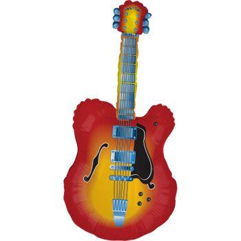 Ballon helium géant guitare