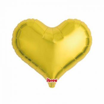Ballon helium coeur or 35cm