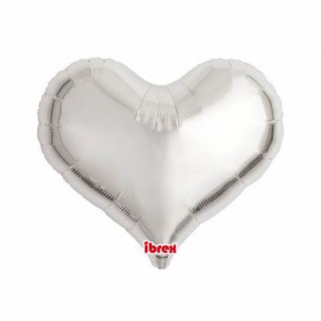 Ballon hélium en aluminium en forme de coeur pour une belle décoration de mariageA gonfler avec ou sans héliumAvec...