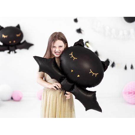 Ballons en aluminium en forme de chauve souris toute mignonne pour une superbe décoration de fête d'Halloween doucePeut être gonflé...