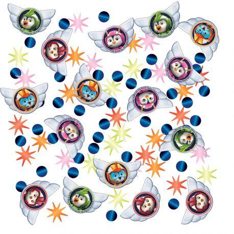 Confettis métallisés à ârsemer sur vos tables pour une belle décoration de fête d'anniversaire sur le thème Top WingPoids: 14gr