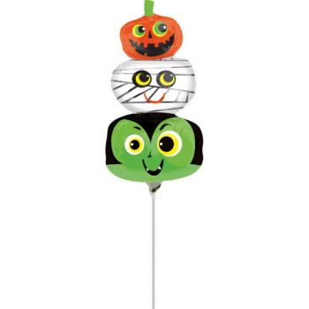 Mini ballon Halloween kids gonflé