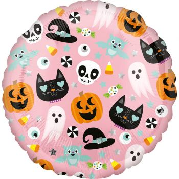 Ballon helium halloween choubidou