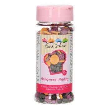 Confettis en sucre mix Halloween 50gr