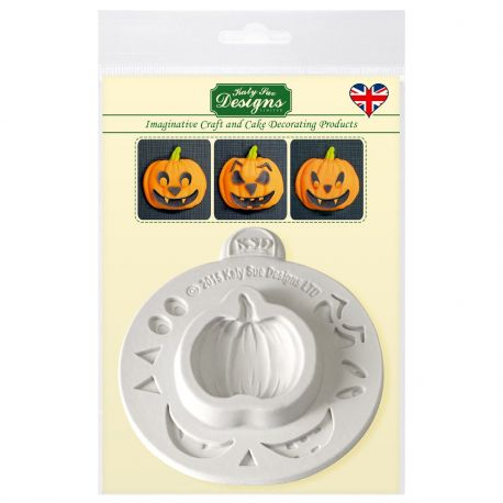 Créez de terribles citrouilles d'Halloween grâce au moule de Katy Sue. Ce moule contient également divers accessoires pour la...
