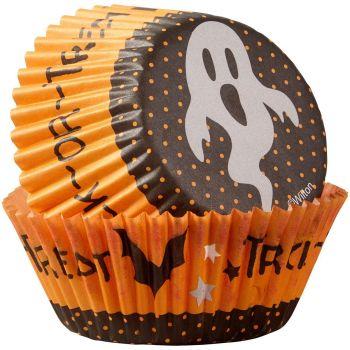 75 Caissettes cupcakes fantôme Wilton