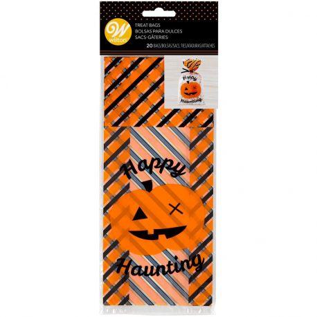 Emballez vos bonbons d'Halloween dans ces sachets amusants de Wilton.Taille : env. 10,5 x 23...