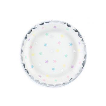 6 petites assiettes star sweet