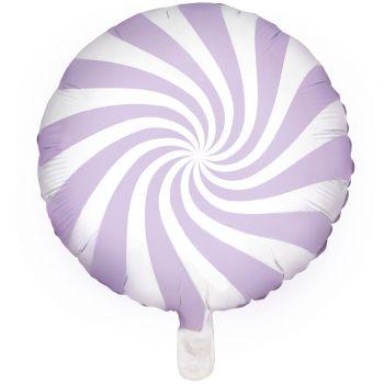 Ballon hélium Candy lilas