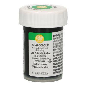 Colorant alimentaire gel Wilton vert kelly