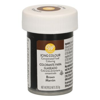 Colorant alimentaire gel Wilton chocolat