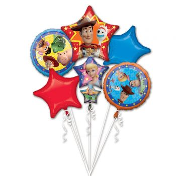 Bouquet ballons helium Toy Story 4