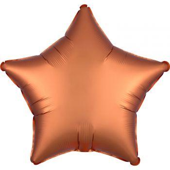 Ballon hélium satin luxe ambre étoile