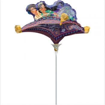 Mini ballon Aladin gonflé