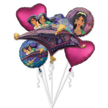 Bouquet ballons helium Aladin