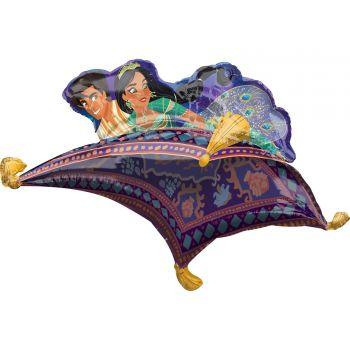 Ballon hélium Aladin tapis volant