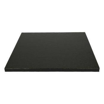 Semelle à gâteau carrée noire 12mm 30.5cm