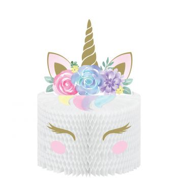 Centre de table baby Licorne