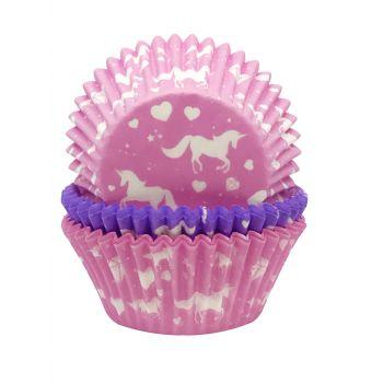 75 Caissettes cupcakes Licorne