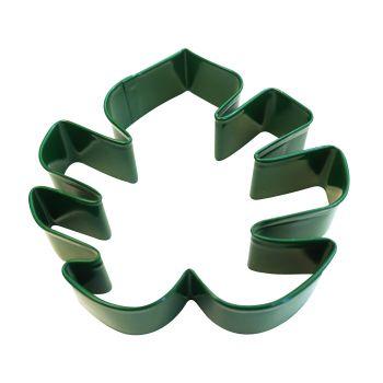 Emporte pièce feuille tropicale métal vert