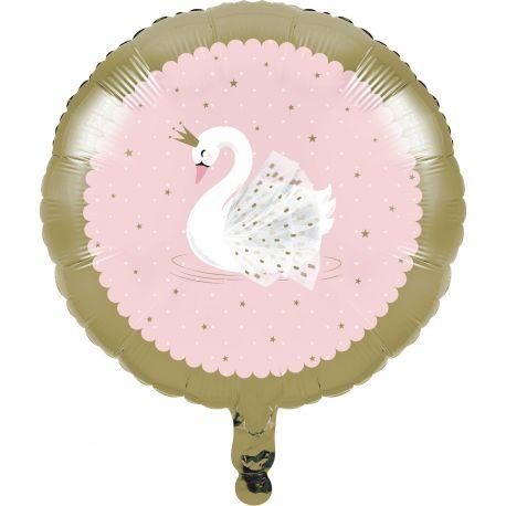 Ballon hélium swan party idéal pour une belle décoration de table d'anniversaire sur le thème de la jungle et de ses...