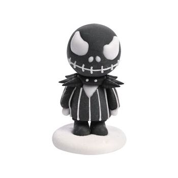 2 Figurines décors sucre Jack Halloween