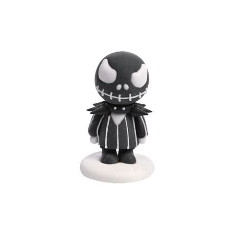 Sujet en sucre en forme de personnage de lJack Halloween Dimensions : L4xH4,8/6 cm