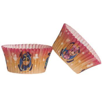 25 Caissettes cupcakes Pat Patrouille