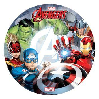 Disque azyme 20cm Avengers