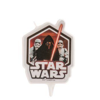 Bougie Star Wars pour gateau