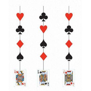 3 Guirlandes poker Vegas