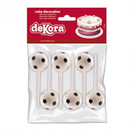 6 Pics décos ballons de football en plastique pour créer une belle décoration d'anniversaire à thème à votre enfant.