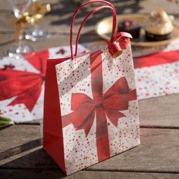 Sac papier Cadeaux de Noël