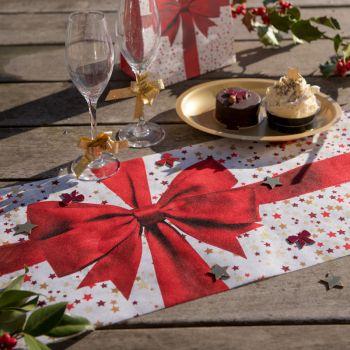 Chemin de table Cadeaux de Noël