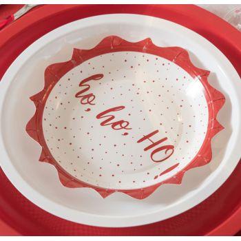 10 petites assiettes Hohoho