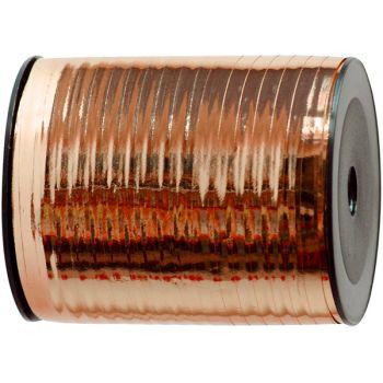 Bolduc métallisé cuivre 250M