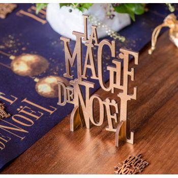 Décor La Magie de Noël or