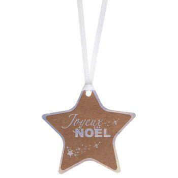 12 Marque place étoiles Noël irisé