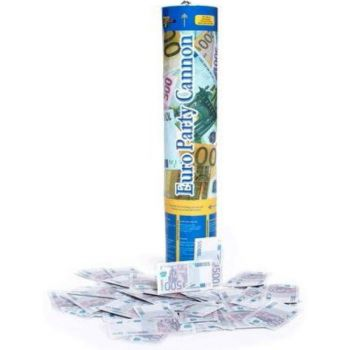 Canon confettis billets
