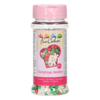 Confettis en sucre Noël Funcakes