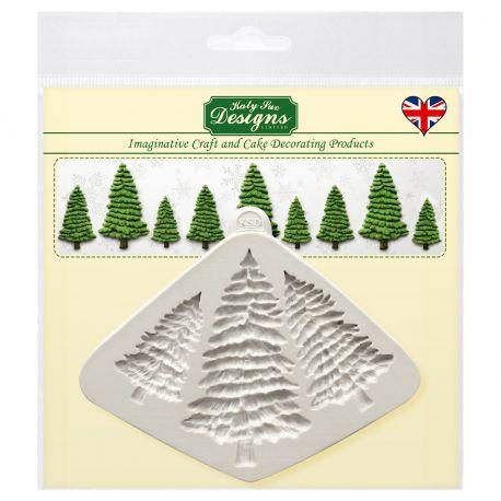 Avec ce moule de Katy Sue vous pourrez facilement créer de magnifiques arbres de Noël très détaillés !Le...