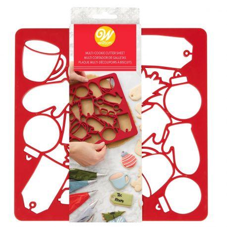 Avec cet emporte-pièce pratique de Wilton, vous pouvez préparer plus de 10 formes de biscuits différentes !Idéal pour préparer...