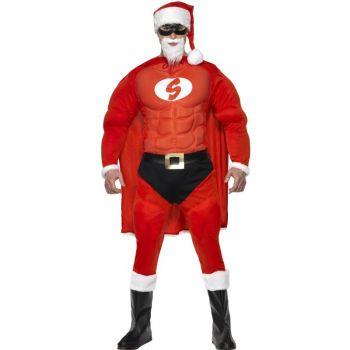 Déguisement Super Père Noël muscle