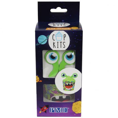 Qui ne veut pas avoir ces cupcakes Aliens le jour de son anniversaire ? Le kit PME Cup contient tout ce dont vous avez besoin pour...