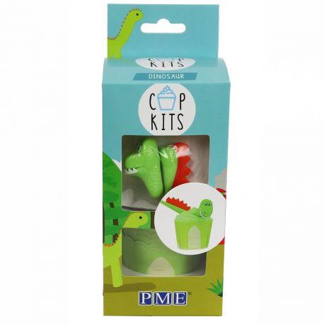 Qui ne veut pas avoir ces cupcakes Dinosaure le jour de son anniversaire? Le kit PME Cup contient tout ce dont vous avez besoin pour...