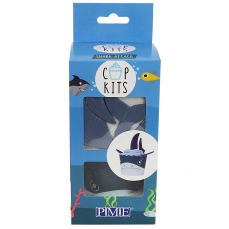 Qui ne veut pas avoir ces cupcakes requin le jour de son anniversaire? Le kit PME Cup contient tout ce dont vous avez besoin pour...