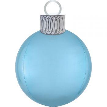 Kit ballon ORBZ XL boule de Noël bleu pastel