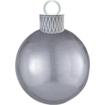 Kit ballon ORBZ XL boule de Noël argent