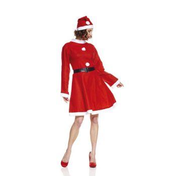Déguisement Miss Noël économique